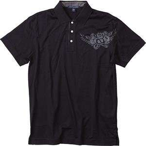 MSR Racing Rep Polo   Large/Black Automotive