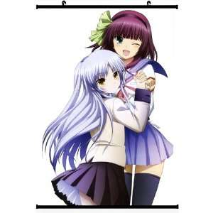 Angel Beats Anime Wall Scroll Poster Nakamure Yuri