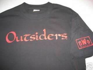 nWo Outsiders T shirt WCW Xpac Kevin Nash Scott Hall