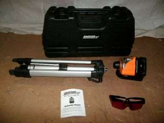 JOHNSON MANUAL LEVELING ROTARY LASER LEVEL KIT 40 0918