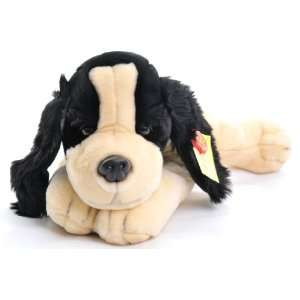 Spaniel Soft Toy Laying 45cm [Toy] Toys & Games