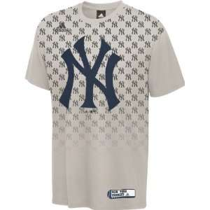 New York Yankees Grey Toddler Organized Chaos T Shirt