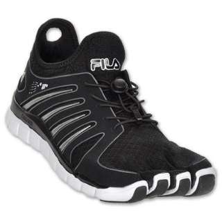 FILA Skele toes Voltage Mens Running Shoes, Black/White Shoes