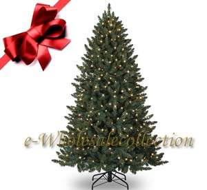 12 PRE LIT CLEAR LIGHTS ARTIFICIAL SPRUCE CHRISTMAS TREE 12FT