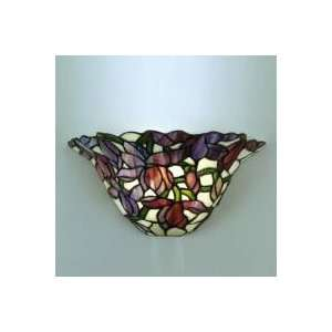 Tiffany Floral Wall Sconce 12   7838/1LTW/7838/1LTW