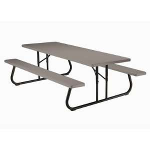 Lifetime 80123 96 Commercial Grade Folding Picnic Table