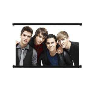 Big Time Rush Pop Group Fabric Wall Scroll Poster (32x21