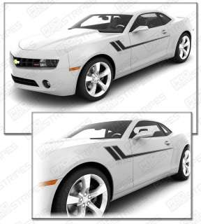 Chevy Camaro 2010 2011 Hash Track Side Stripes Decals