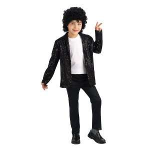 Black Sequin Billie Jean Childrens Michael Jackson