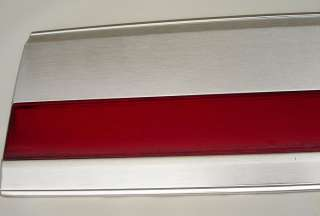 88 96 Ford XLT Lariat F 150 F 250 F 350 Truck Tailgate Red Trim Panel