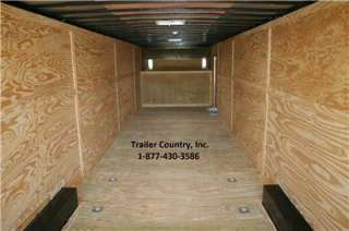 NEW 2012 8.5 X 44 ENCLOSED GOOSENECK CARGO TRAILER