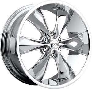20 FOOSE Legend 6 Wheel SET 20x9 Chrome RWD 6 Lug Rims