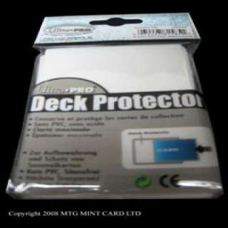 50 Ultra Pro White Deck Protector CARD Sleeve Magic WOW