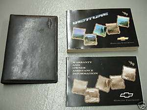 1999 Chevy Venture Owners Manual Guide Books Literature