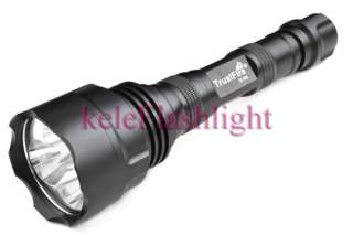 TrustFire 500L White Red Green 3M CREE LED Flashlight