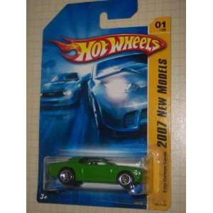 Concept Green 5 Spoke Wheels #2007 01 Collectible Collector Car Mattel