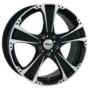 17x7 XXR 008 (Black w/ Machined Lip) Wheels/Rims 5x100/114