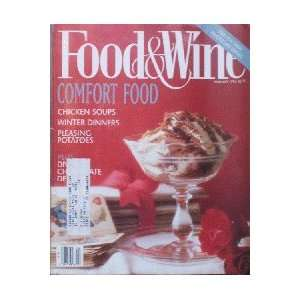Food & Wine Magazine (Food & Wine, February 1994) Dana Cowin Books