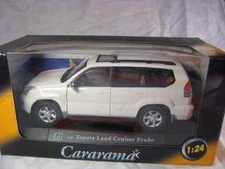 Prado white Cararama Diecast Car Collection Model 124 1/24