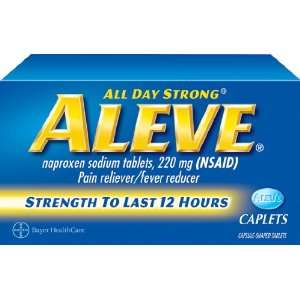 Aleve All Day Strong Pain Reliever, Fever Reducer, 100