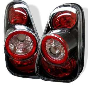 2002+ Mini Cooper Euro Altezza Tail Lights   Black Automotive