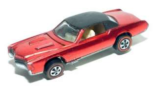 1968 Mattel Hot Wheels CUSTOM ELDORADO Redline Red Line