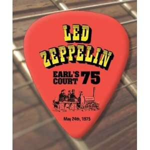 Led Zeppelin Knebworth 1979 Tour Guitar Pick x 5 Musical
