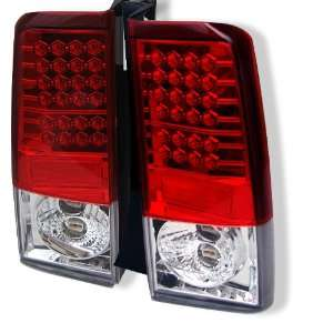 2003 2006 Scion XB Red/Clear SR LED Tail Lights