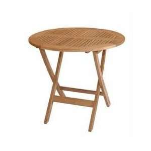 Windsor 31 inch Round Picnic Folding Table