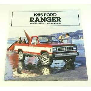 1985 85 Ford RANGER Pickup Truck BROCHURE XLS XL XLT