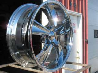 20X8.5 20X10 CHROME AMERICAN RACING VN805 BLVD WHEELS RIMS 2010 12