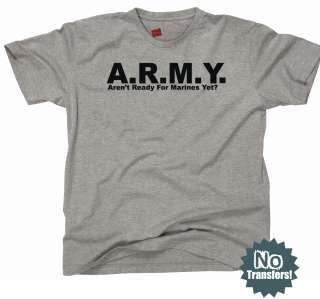 Marines Navy Beat Army Funny USMC Military New T Shirt
