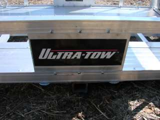 Aluminum Hitch Cargo Carrier Utility Trailer Ramp Haul Motor Scooters