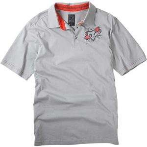 Fox Racing Torn Polo   Large/Grey Automotive