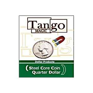 Steel Core Quarter Tango Coin Money Magic CloseUp Trick