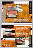 ROVER AUSTIN MINI COOPER THE ITALIAN JOB MODEL Car CARD