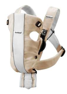 BabyBjorn Baby Carrier Air   Sand/White, Mesh 874594002654