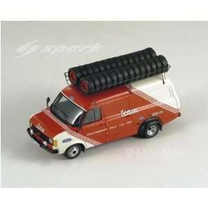 Ford Transit Belga Team Diecast Model Car in 143 Scale by