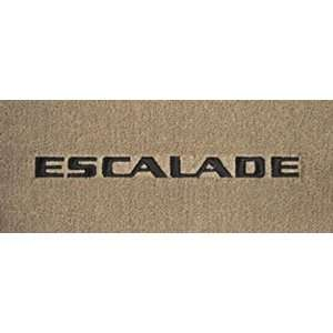 Logo 2007 2011 Cadillac Escalade ESV Luxury 2 Pc Front Mats Luxury