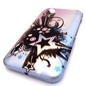 Straight Talk LG L85c Optimus Black Pop Star Cute Design