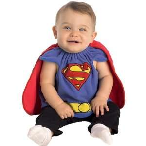 Lets Party By Rubies Costumes Superman Bib Newborn Costume