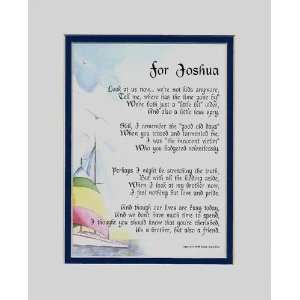 com Personalized Keepsake Poem For A Brother. This Touching 8x10 Poem