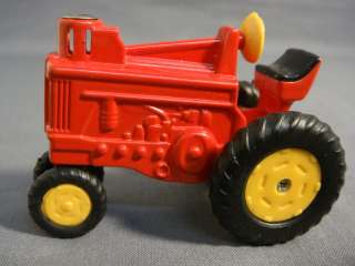 RED FARM TRACTOR REFILLABLE CIGARETTE LIGHTER NEW