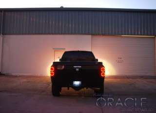 07 08 Dodge RAM Tail Light hid led HALO KIT Demon Eyes