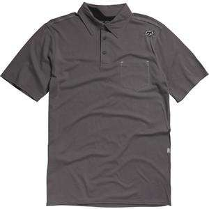 Fox Racing Outfoxed Polo   2X Large/Graphite Automotive