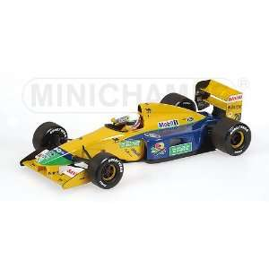 BENETTON FORD B191B M.BRUNDLE 1992 Diecast Model Car in 1