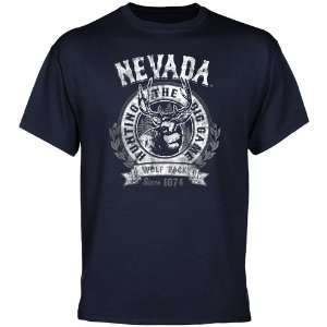 Nevada Wolf Pack The Big Game T Shirt   Navy Blue  Sports