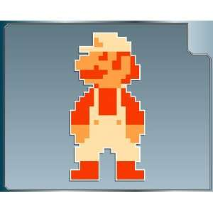Mario 8 bit from Super Mario Bros. vinyl decal sticker 4 Everything