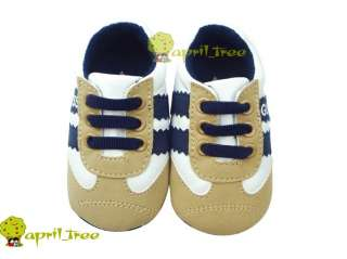 Boy Infant shoes Sneaker Prewalker soft soled(C89)size 2 3 4