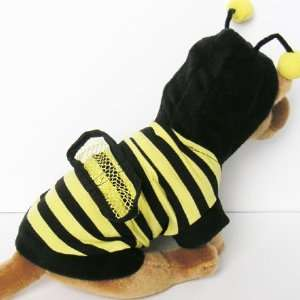 Bumble BeeCostume Hoodie Jacket pet dog clothes APPAREL Chihuahua